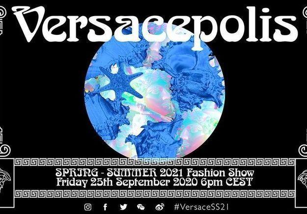 Suivez le défilé Versace en direct