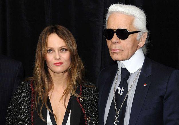 Vanessa Paradis + Karl Lagerfeld, le coup de foudre