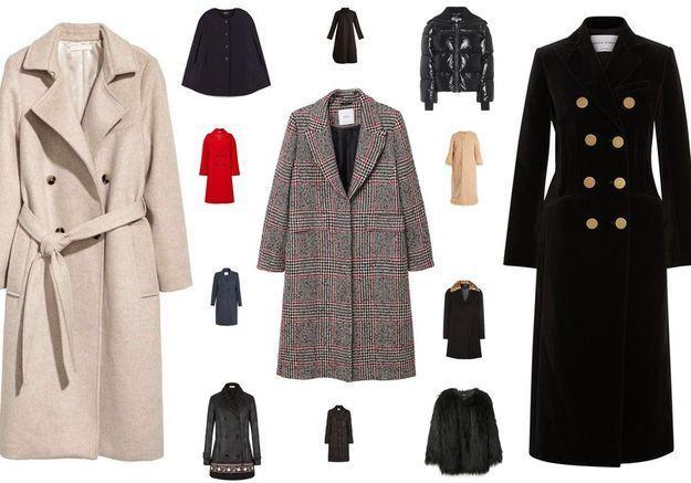 Manteaux soldés : 30 modèles stylés