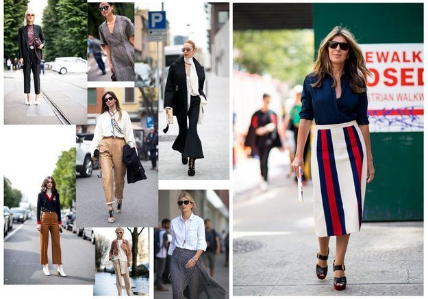 "Street style : le bon ""office look"""