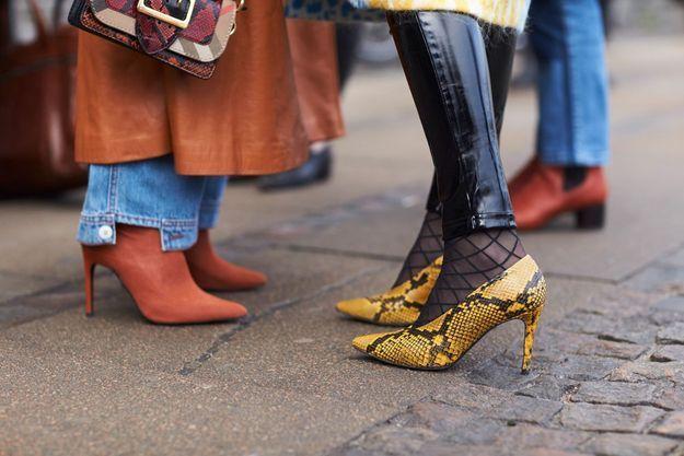Des chaussures pointues, tu chausseras