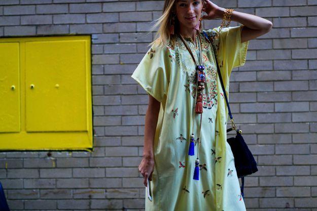 Une robe longue façon Médina