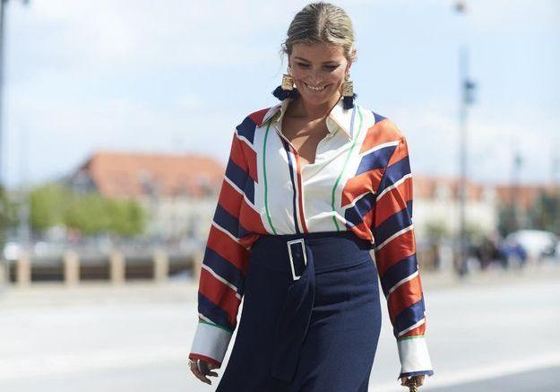 Street style : que porter avec une jupe longue ?