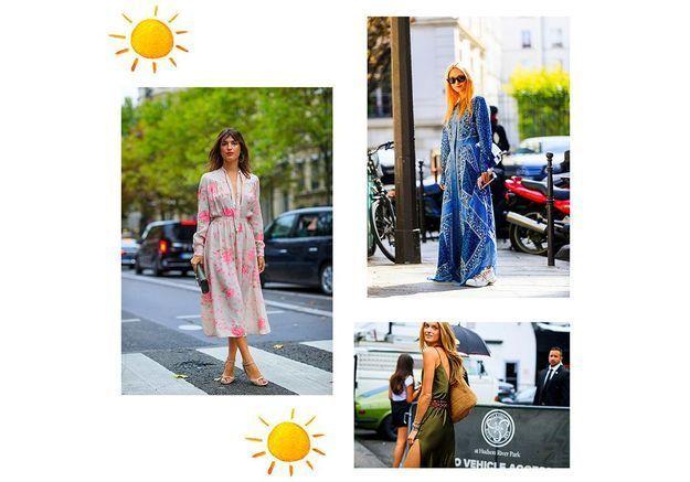 Street Style : ces robes d'été que l'on portera toujours à la rentrée