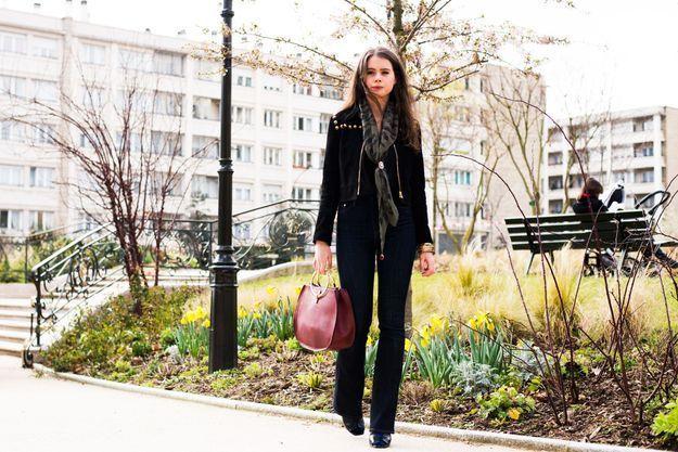 Agathe Gire, assistante styliste au magazine ELLE