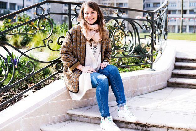 Alexandra Bourgault, assistante styliste au magazine ELLE