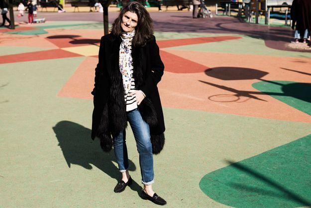 Anne-Claire, responsable de la rubrique style au magazine ELLE