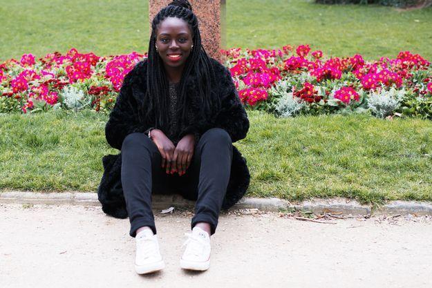 Binta Touré, stagiaire chef de projet opérations spéciales et partenariats ELLE.fr