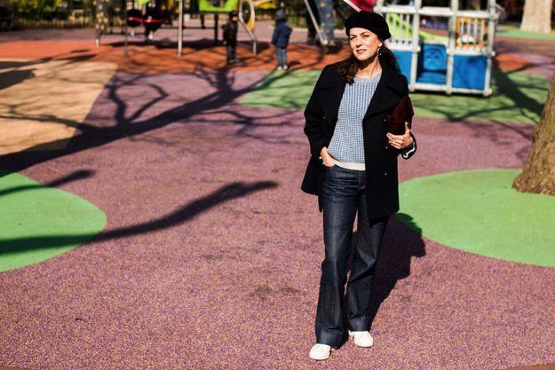 Caroline de Fayet, rédactrice en chef mode au magazine ELLE