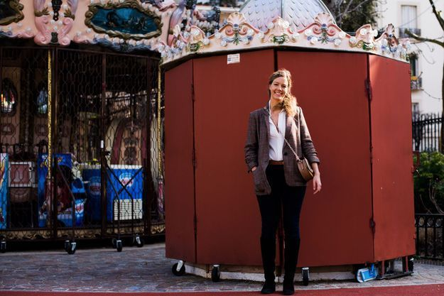 Emilie Rivenq, journaliste culture et société au magazine ELLE