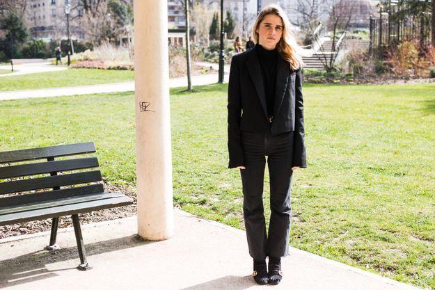 Emmanuelle Ramos, assistante styliste au magazine ELLE