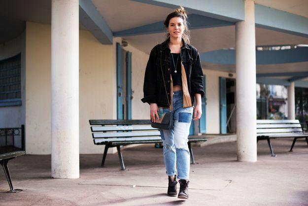 Justine Collet, assistante styliste au magazine ELLE