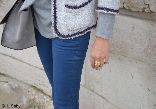 Street style : la rédac du ELLE en jean