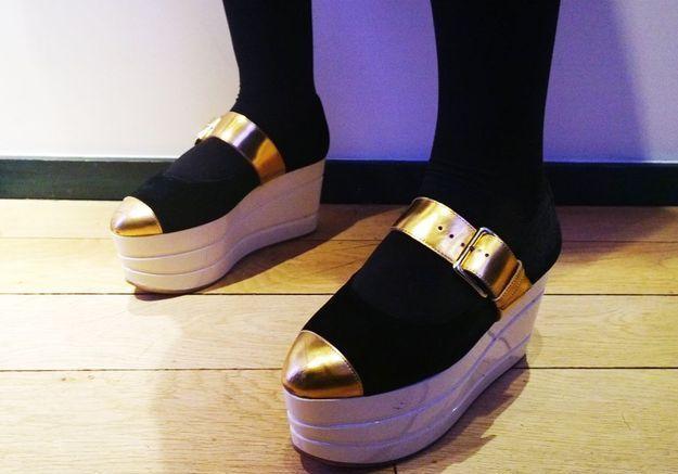 Les chaussures Marni de Sandy