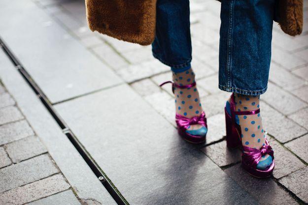 Des sandales girly