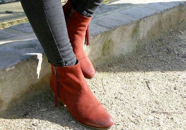 Street style : vos accessoires fétiches bottines Georgia Rose