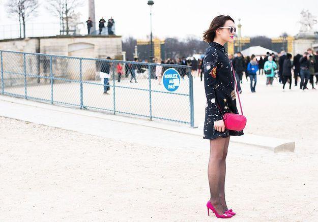 Une robe au printemps : avec ou sans collants ?
