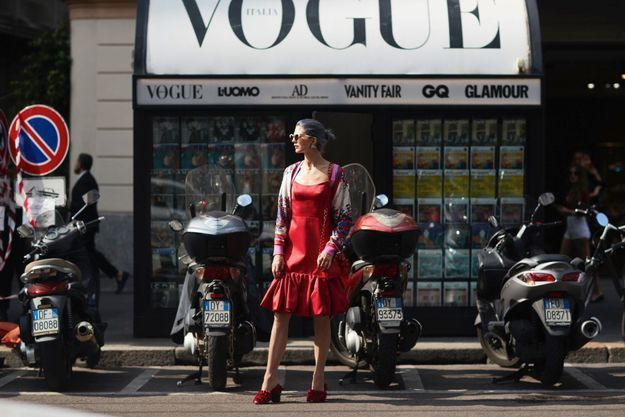En robe glamour