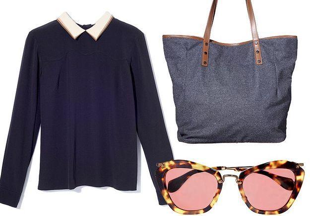 Mode tendance shopping jean look jean droit accessoire
