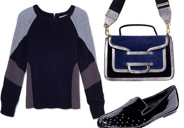 Mode tendance shopping jean look jean noir blanc accessoire
