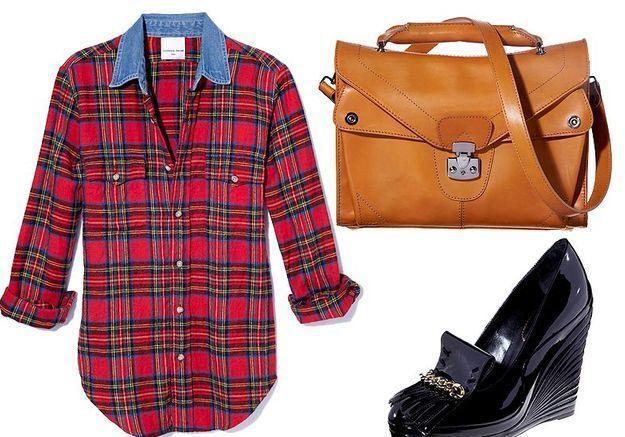 Mode tendance shopping jean look jean revers accessoire