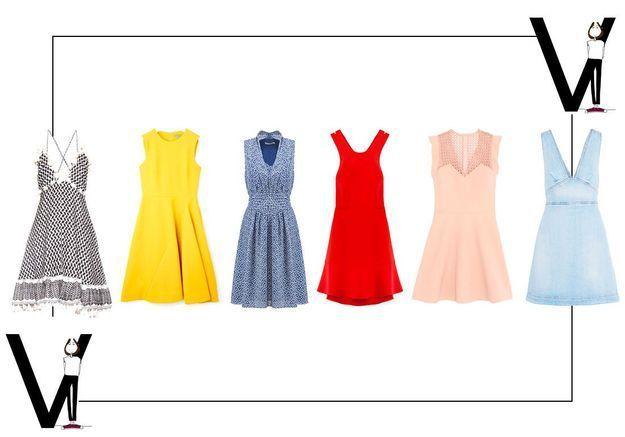 15 robes pour ma morphologie en V