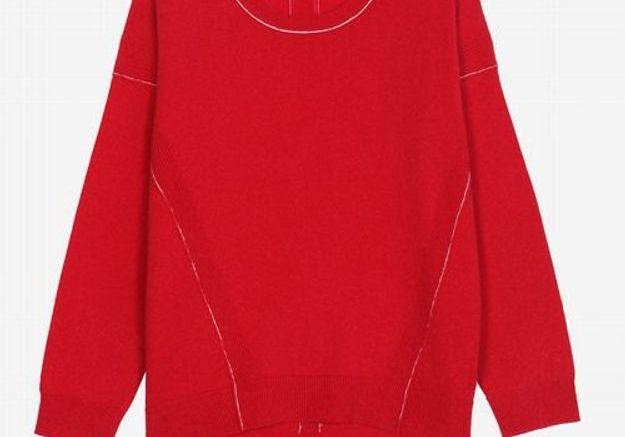 Pull rouge Berenice