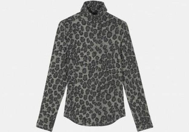 Pull imprimé léopard Majestic Filatures