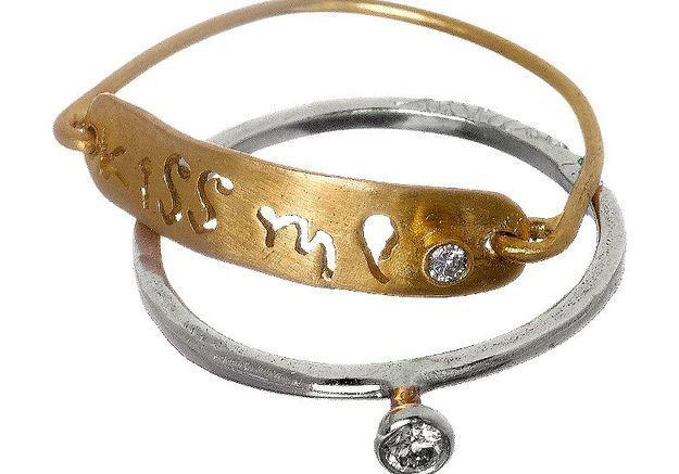 Mode diaporama accessoire bijoux mariage alliance apriati