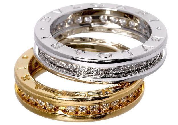 Mode diaporama accessoire bijoux mariage alliance bulgari