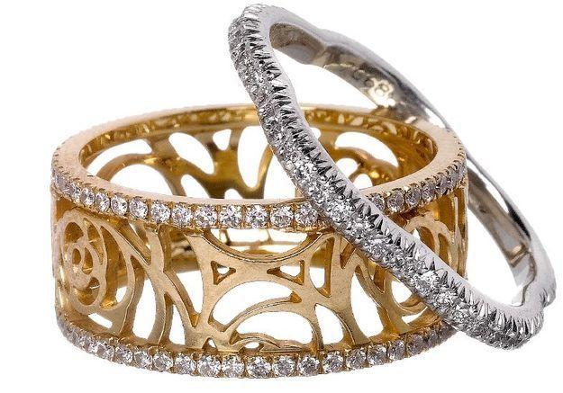 Mode diaporama accessoire bijoux mariage alliance chanel joaillerie
