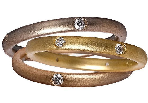 Mode diaporama accessoire bijoux mariage alliance pomellato