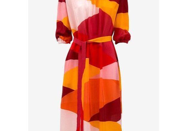 Robe en soie Avavav