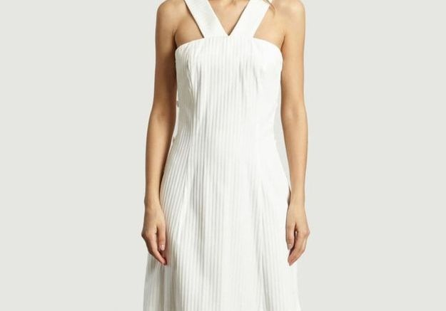 Robe blanche Cacharel