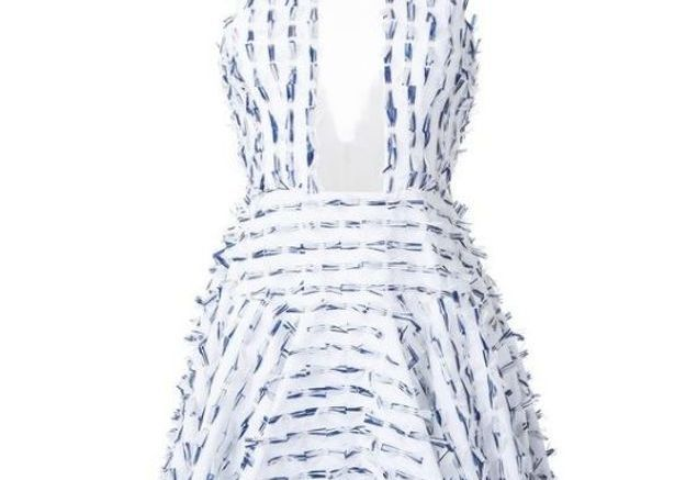 Robe courte Alex Perry