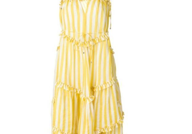 Robe jaune Zimmermann