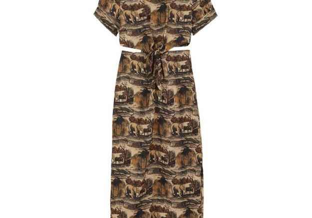 Robe longue Nanushka
