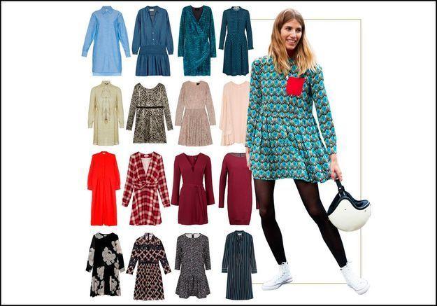 40 robes à manches longues pour affronter l'hiver