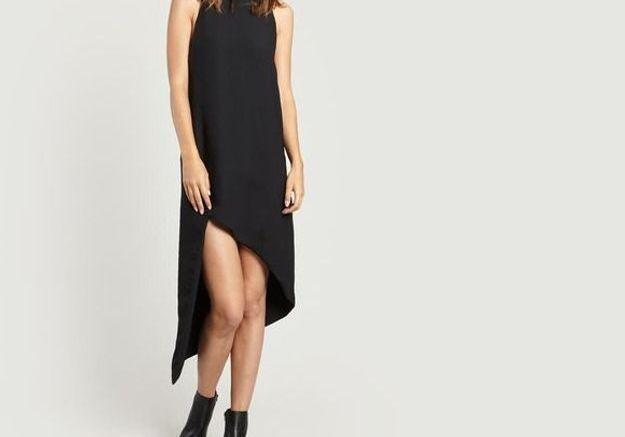 Robe noire asymétrique Iro