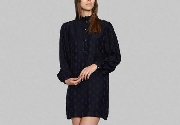 Robe noire chemise Sœur