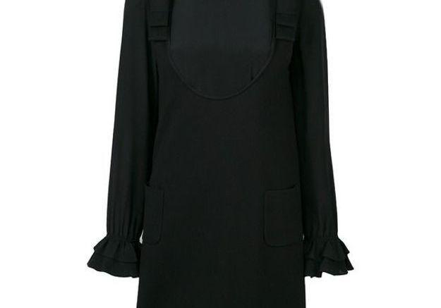 Robe noire courte Twin Set