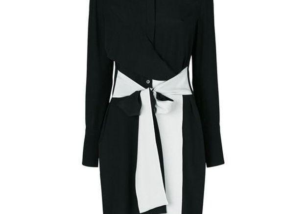 Robe noire droite Givenchy