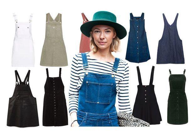 20 robes salopettes pour un look qui en jette