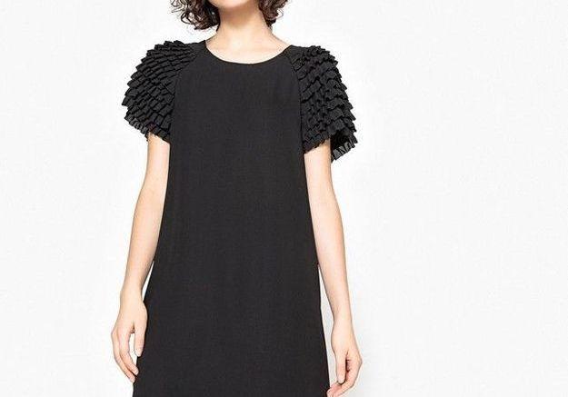 Robe noire La Redoute Collections