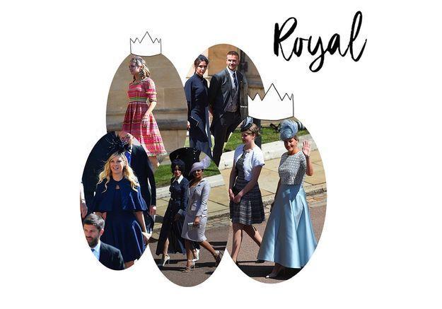 Les robes des invitées au Royal Wedding ont fait le show