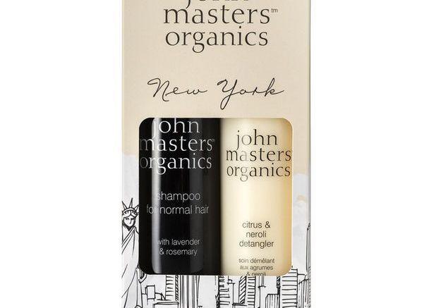 Coffret New-York pour cheveux normaux, John Masters Organics