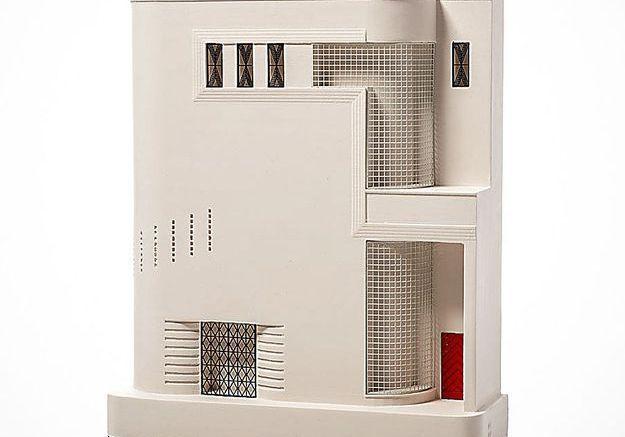 Une maquette d'architecte