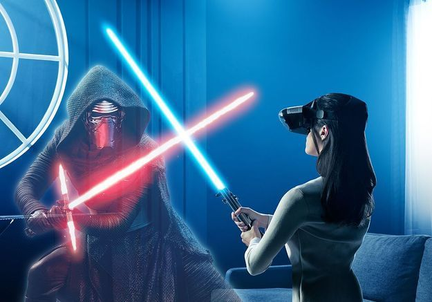 Un combat de Jedi