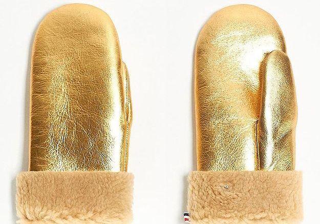 Des mouffles dorées