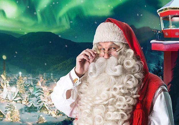 Une vidéo du père Noël